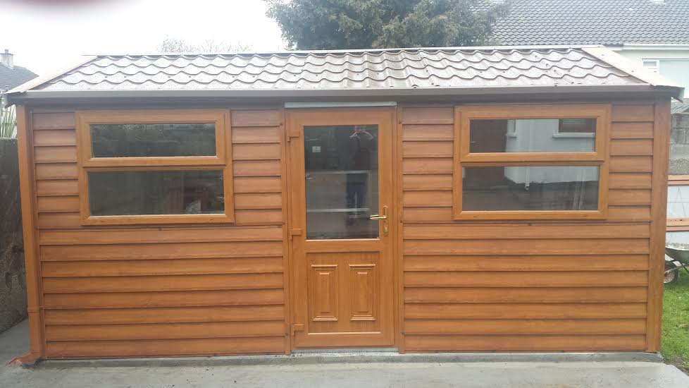Steel garden sheds for sale in dublin for Wood sheds for sale