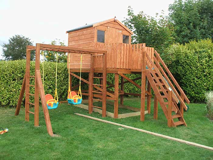 Playhouses Amp Treehouses Dublin Supplied Amp Fitted