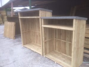 Log Stores for sale
