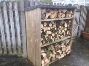 Log Store 4' x 5' 18 inch